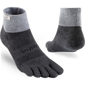 Injinji Trail Mini-Crew Xtralife Midweight Teensokken, granite